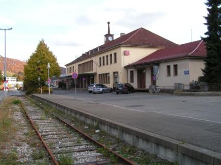 Albstadt, Bahnhof Ebingen