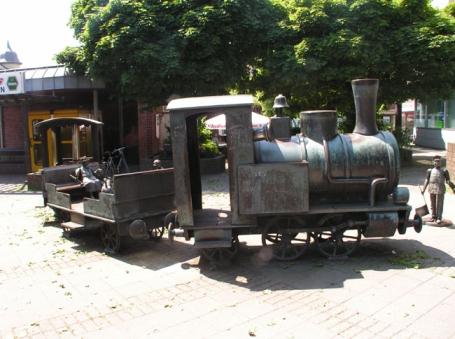 Alsdorf, Eisenbahndenkmal