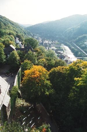 Altena, Blick über Altena