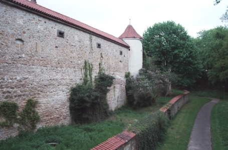 Amberg, Stadtmauer
