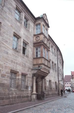 Amberg, Regierungskanzlei