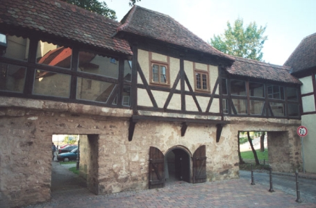 Ansbach, Ehem. Stadtbefestigung