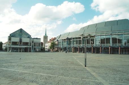 Aschaffenburg, Stadthalle, Stadtbibliothek