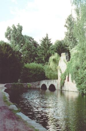 Aschaffenburg, Ruine Park Schöntal