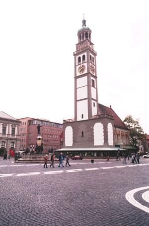 Augsburg, Ausgrabungen am Dom