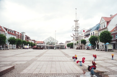 Aurich, Marktplatz