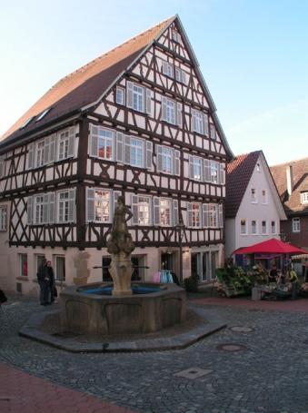 Backnang, Brunnen