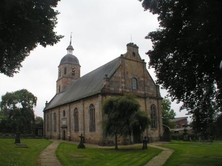 Bad Bentheim, Ev.-ref. Kirche