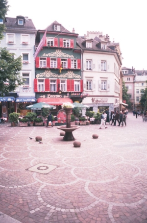 Baden Baden, Jesuitenplatz