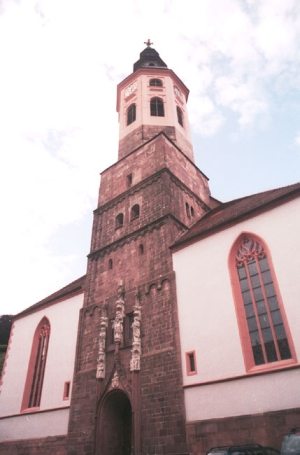 Baden Baden, Stiftskirche