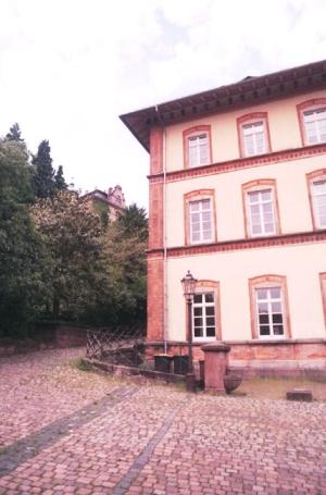 Baden Baden, Blick zum Neuen Schloß