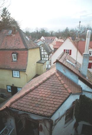 Bad Homburg, Blick über die Altstadt