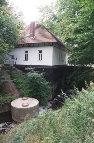 Bad Oeynhausen, Wasserkraftwerk