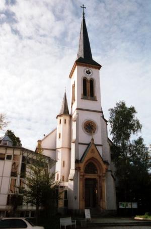 Bad Reichenhall, Ev. Kirche