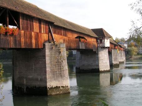 Bad Säckingen, Holzbrücke
