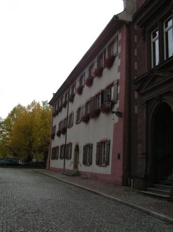 Bad Säckingen, Stiftungsgebäude