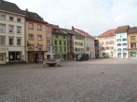 Bad Säckingen, Münsterplatz