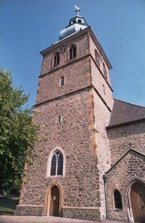 Bad Salzuflen, Stadtkirche auf dem Hallenbrink