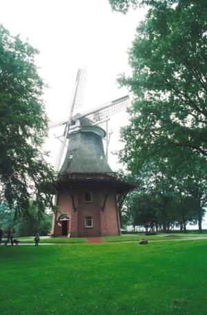 Bad Zwischenahn, Windmühle im Freilichtmuseum