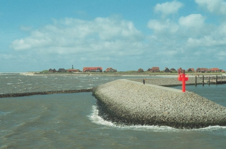 Baltrum, Hafeneinfahrt